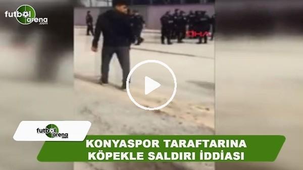 Konyaspor taraftarına köpekle saldırı iddiası
