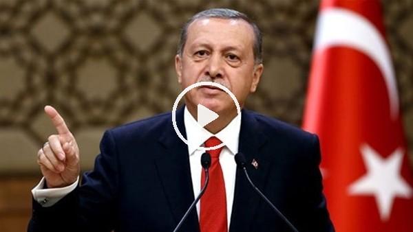 Cumhurbaşkanı Erdoğan 'AK gençliği' Başakşehir tribününe çağırdı