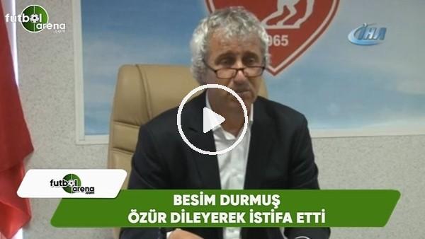 Samsunspor Teknik Direktörü Besim Durmuş özür dileyerek istifa etti