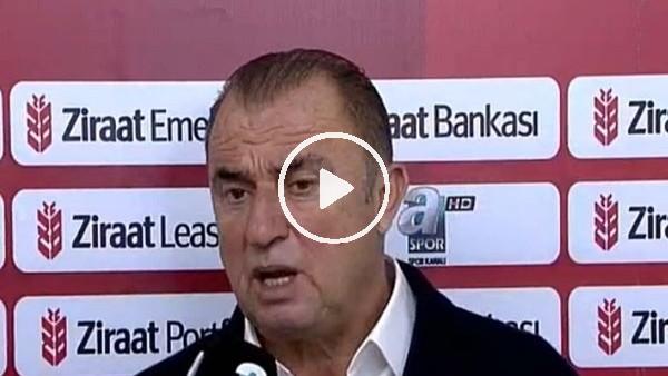 Fatih Terim'in Akhisarspor maçı sonrası açıklamaları