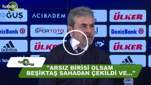 """Aykut Kocaman: """"Arsız biri olsam Beşiktaş sahadan çekildi ve...."""""""