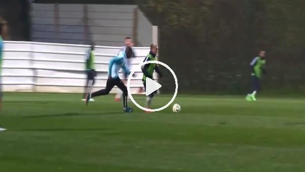 Antoine Griezmann'dan antrenmanda olağanüstü gol