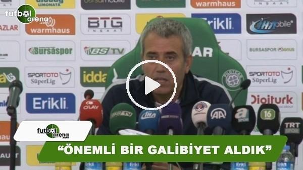 """Kemal Özdeş: """"Önemli bir maç kazandık"""""""