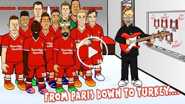 Liverpool oyuncuları ve Klopp'a süper klip!