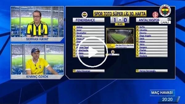 Soldado'nun Antalyaspor maçında attığı golde FB TV!