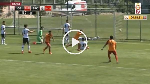 Beşiktaşlı Abdullah Çelik'in Galatasaray derbisinde kendi kalesine attığı gol