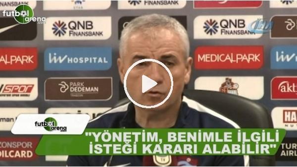 Rıza Çalımbay, Trabzonspor'da kalacak mı?