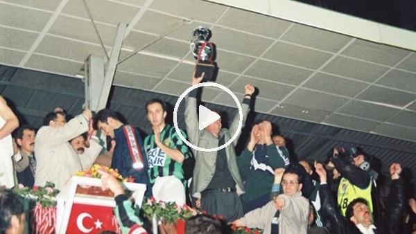 Kocaelispor, Türkiye Kupası'nda şampiyon oldu(16 Nisan 1997)