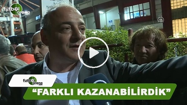 """Murat Cavcav: """"Farklı kazanabilirdik"""""""