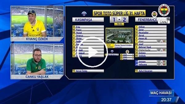 Valbunea'nın golü FB TV spikerlerini coşturdu
