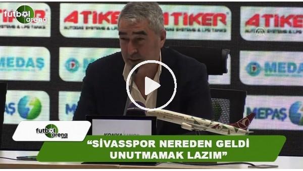 "Samet Aybaba: ""Sivasspor nereden geldi unutmamak lazım"""