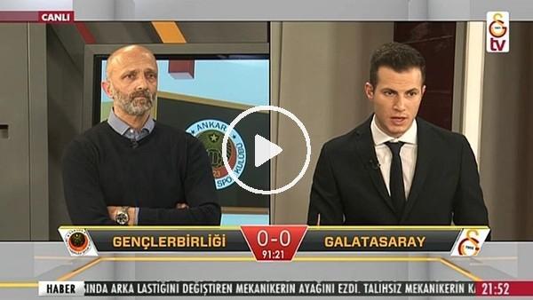 Alper Uludağ'ın Galatasaray'a uzatmalarda attığı golde GS TV!