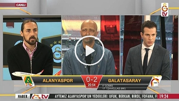 Fernandes'in Galatasaray'a attığı golde GS TV!