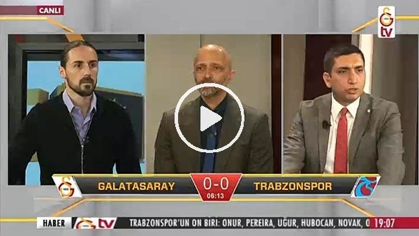 Feghouli'nin Trabzonspor'a attığı golde GS TV!