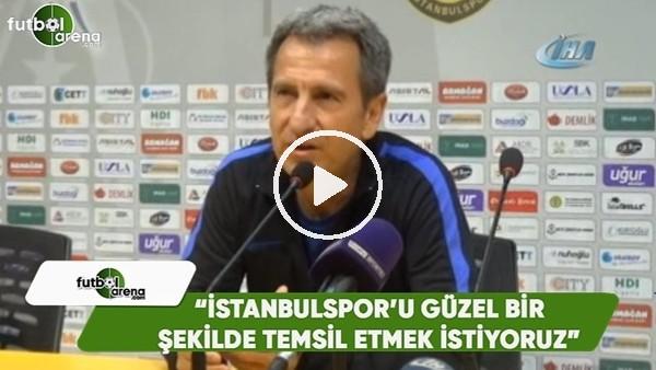 """'Tamer Avcı: """"İstanbulspor'u en güzel şekilde temsil etmek istiyoruz"""""""