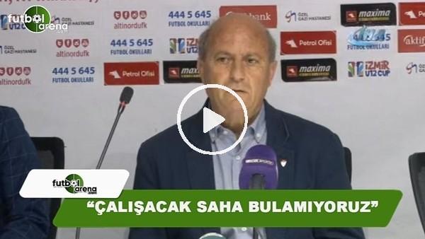 """'Manisaspor Teknik Direktörü Ünal Taşçı: """"Çalışacak saha bulamıyoruz"""""""
