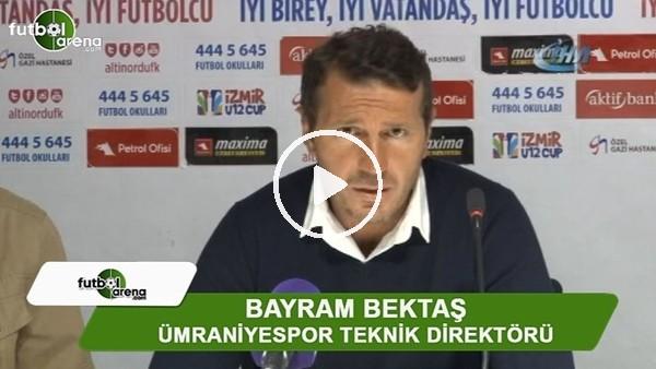 """Bayram Bektaş: """"Güzel maç oldu çok mutluyuz"""""""