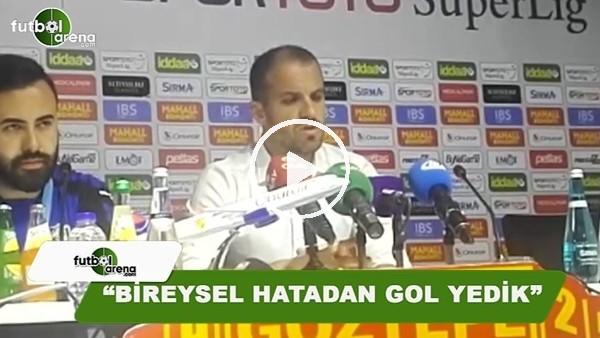 """Mustafa Er: """"Bireysal hatadan gol yedik"""""""