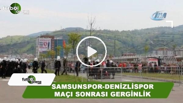 'Samsunspor-Denizlispor maçı sonrası gerginlik