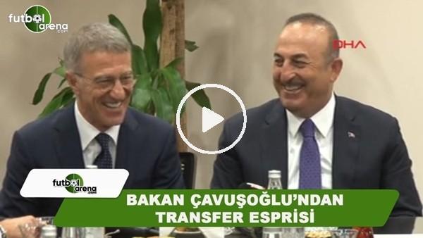Bakan Mevlüt Çavuşoğlu'ndan transfer esprisi