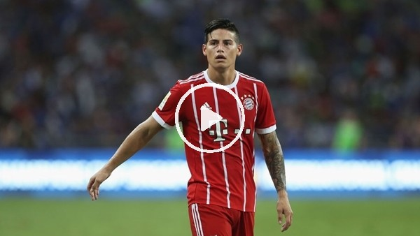 'Bayern Münih, James Rodriguez'in bonservisni alıyor