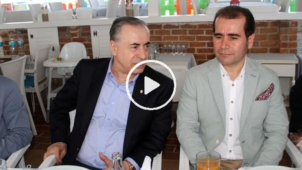Galatasaraylılar, başkanlarıyla yemekte bir araya geldi