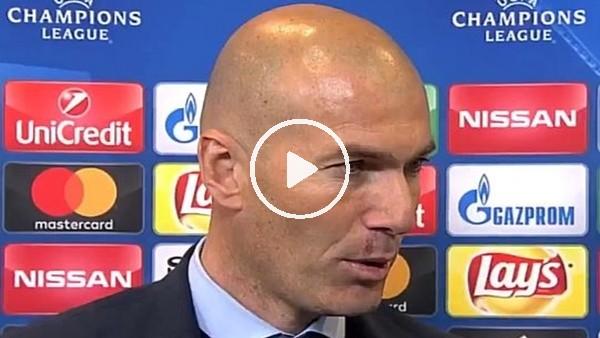 """Zinadine Zidane: """"Oyuncu değişikliği tercihlerim olumlu sonuç verdi"""""""