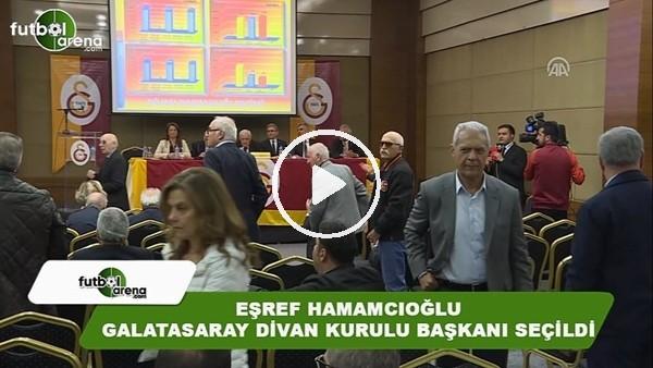 Eşref Hamamcıoğlu, Galatasaray'ın yeni divan kurulu başkanı seçildi
