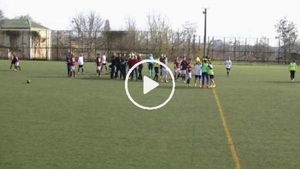 Ukrayna'da kadınlar futbol maçında kavga çıktı