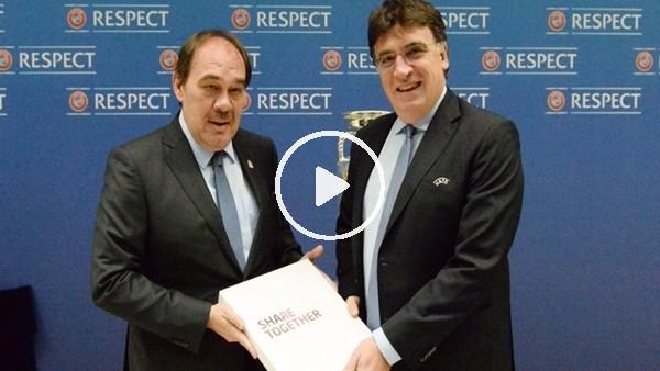 """Yıldırım Demirören: """"EURO 2024 için adaylık dosyamızı sunduk"""""""