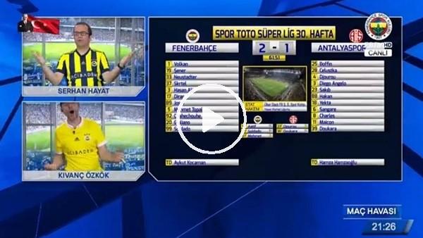 Giuliano'nun Antalyaspor'a attığı golde FB TV!