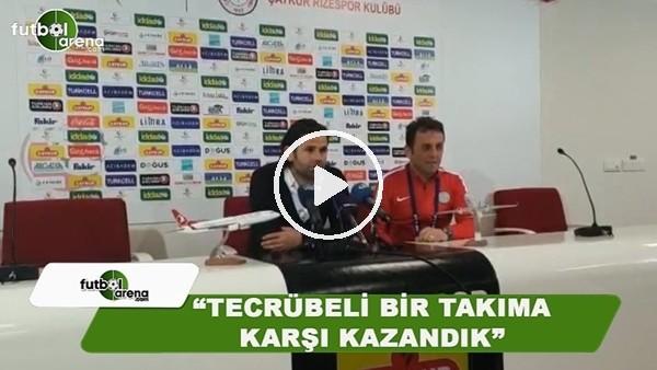 """İbrahim Üzülmez: """"Tecrübeli bir takıma ve futbolculara karşı maç kazandık"""""""