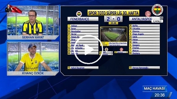 Doukara'nın golünde FB TV!