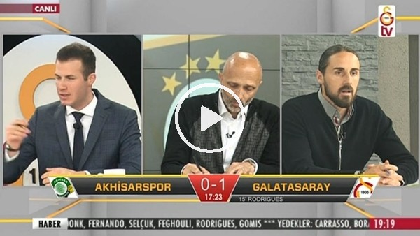 Garry Rodrigues'in Akhisarspor'a attığı gollerde GS TV!