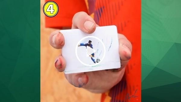 Messi'nin El Clasico'da attığı golü birde böyle izleyin!