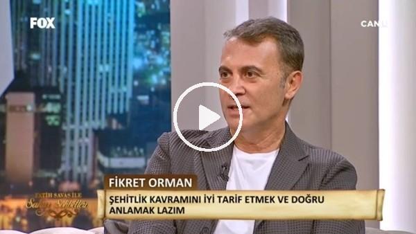 Fikret Orman, FOX TV'de sahur programına konuk oldu