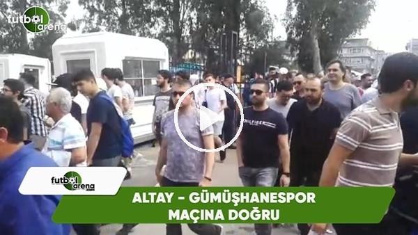 İzmirli taraftarların, Altay - Gümüşhanespor maçına yoğun ilgisi