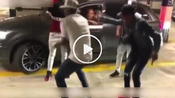 Jerry Mina'dan olay dans!