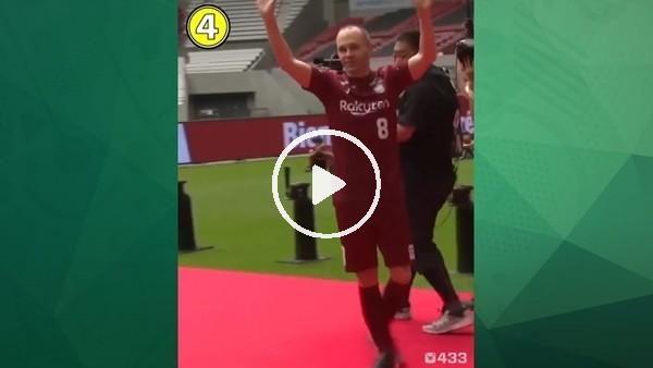 Iniesta, Kobe formasını giydi ve şovunu yaptı!