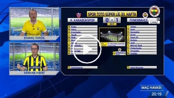 Fernandao'nun Karabükspor'a attığı golde FB TV!