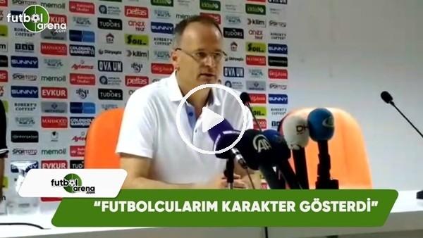 """İrfan Buz: """"Futbolcularım karakter gösterdi"""""""