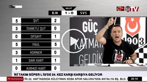 Cyle Larin'in Sivasspor'a attığı golde BJK TV!