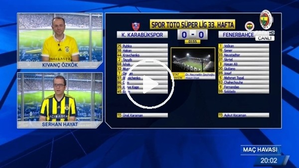 Kravchenko'nun kendi kalesine attığı golde FB TV!