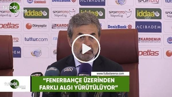 """Aykut Kocaman: """"Fenerbahçe üzerinden farklı algı yürütülüyor"""""""