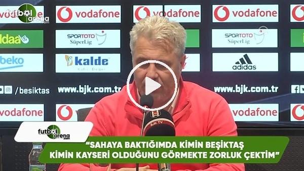 """Sumudica: """"Sahaya baktığımda kimin Beşiktaş kimin Kayseri olduğunu görmekte zorluk çektim"""""""