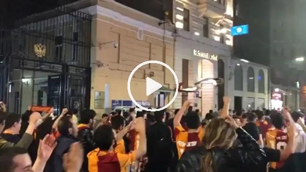 Galatasaraylı taraftarlardan seçim öncesi Mustafa Cengiz' destek