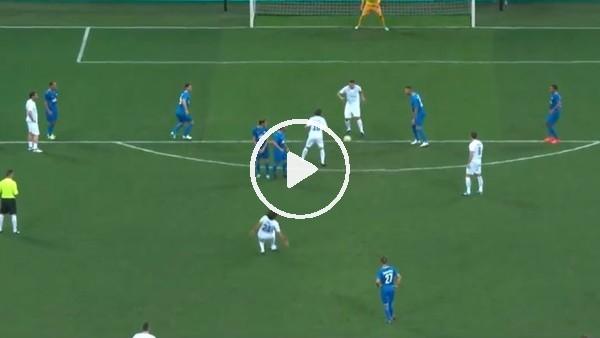 Pirlo jübile maçında frikikten Vieri'ye asist yaptı