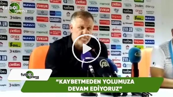 """Mesut Bakkal: """"Kaybetmeden yolumuza devam ediyoruz"""""""