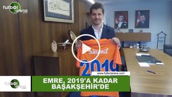 Emre Belözoğlu, 1 yıl daha Başakşehir'de!