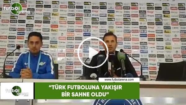 """Okan Buruk: """"Türk futboluna yakışır bir sahne oldu"""""""